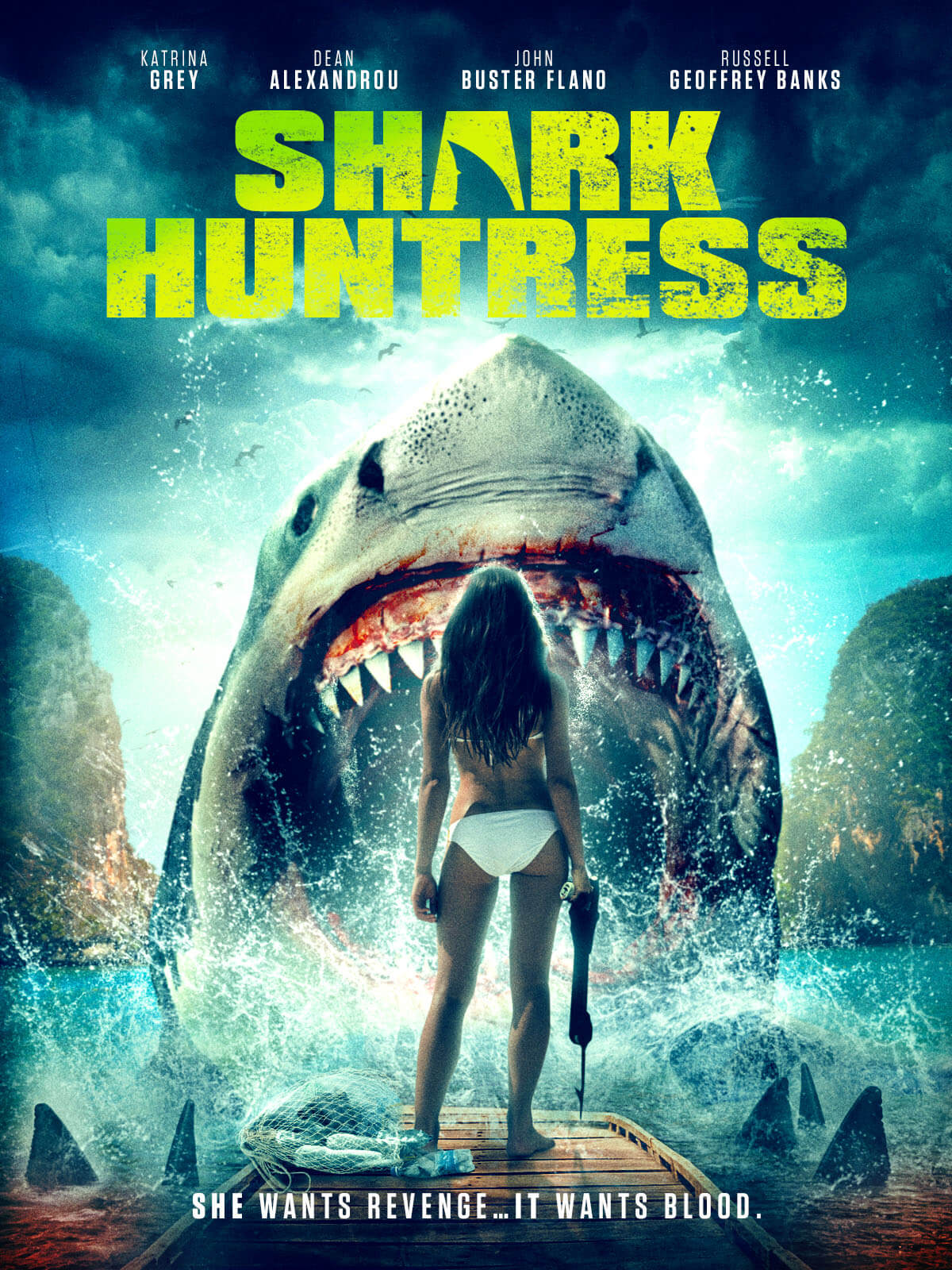 Shark Huntress 1200x1600 1 SHARK HUNTRESS